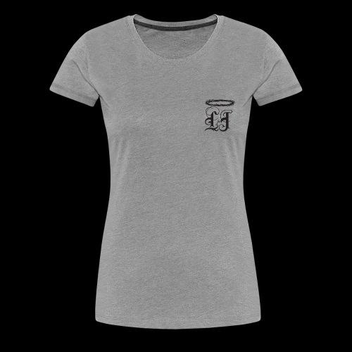 Classic Womens LJ Logo with #COVETING - Women's Premium T-Shirt