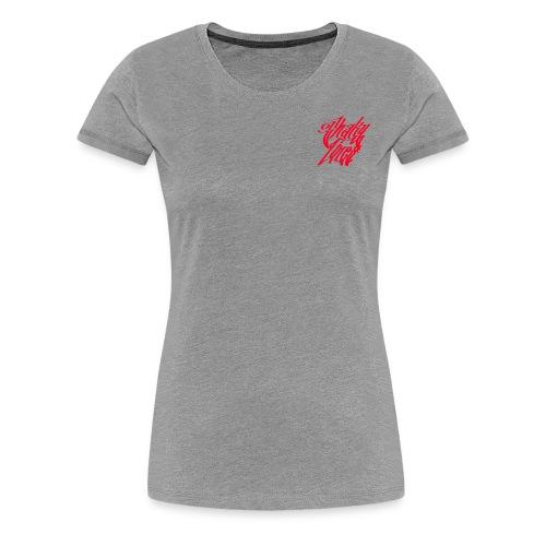 Small logo tee red - Women's Premium T-Shirt
