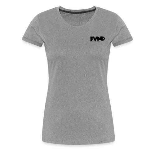 FUND Friskole - Dame premium T-shirt