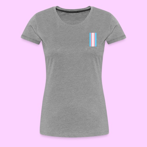 Lowkey Trans Pride - Women's Premium T-Shirt