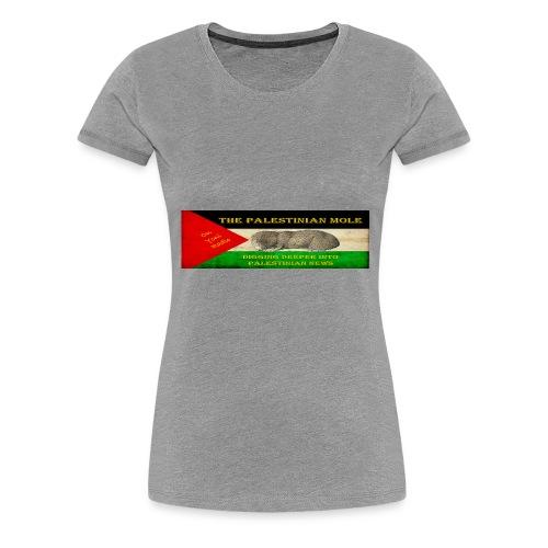 The Palestinian Mole - Women's Premium T-Shirt
