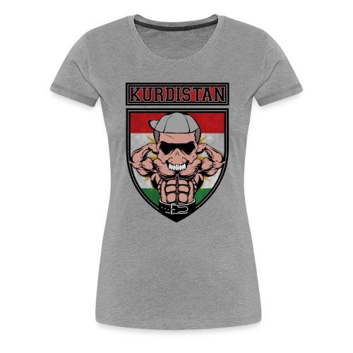 Kurdistan azadi Kurdish people. Kurdish Muscle - Frauen Premium T-Shirt