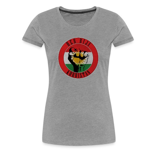 Kurdistan Flag her biji Kurdistan - Frauen Premium T-Shirt