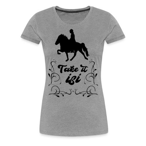 Isländer Pony Isi T-Shirt Islandpferd - Frauen Premium T-Shirt