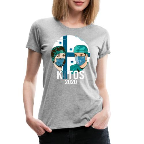 Kiitos 2020 - Naisten premium t-paita