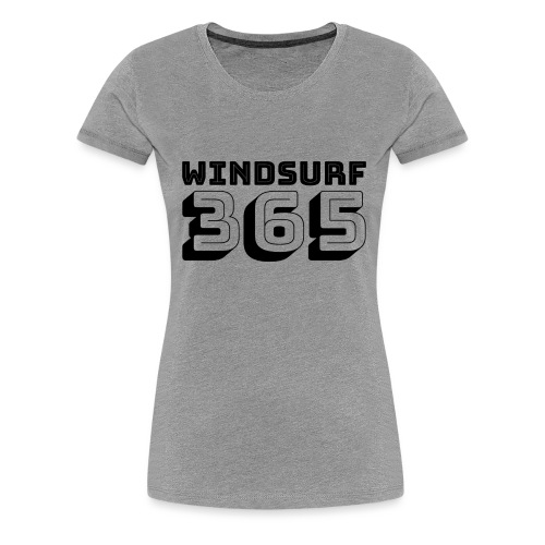 Windsurfing 365 - Women's Premium T-Shirt
