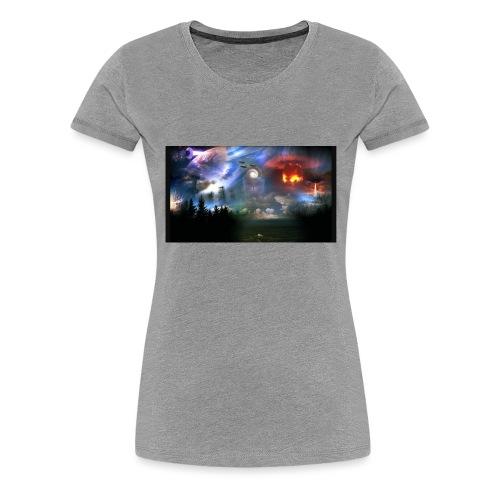 WK 3-Weltkrieg Nr.3 - Frauen Premium T-Shirt