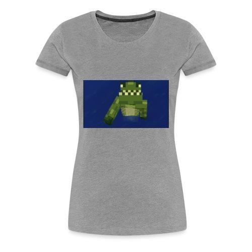 Swimming Snappy - Women's Premium T-Shirt