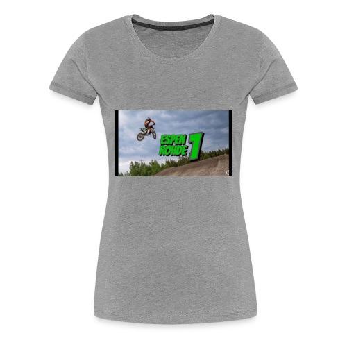 Espen rohde logo - Premium T-skjorte for kvinner