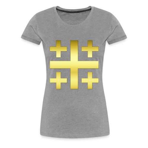 Jerusalem 2400 3D t - Frauen Premium T-Shirt