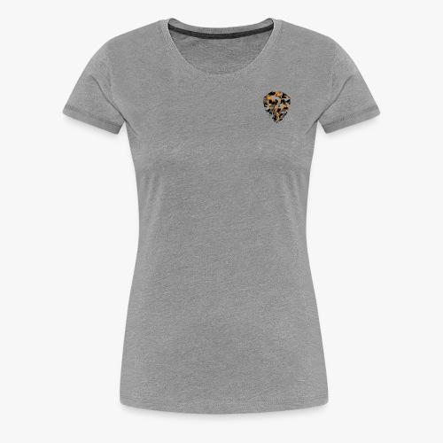 Urban camouflage special orange/black. - Camiseta premium mujer