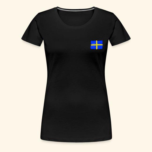 Swedish flag in Watercolours