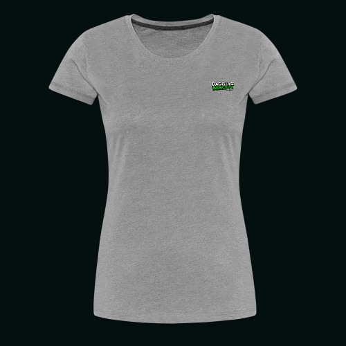 Dagelijkse Berichten Tshirt Logo v1 - Vrouwen Premium T-shirt