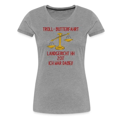 Netzfrauen 7 - Frauen Premium T-Shirt