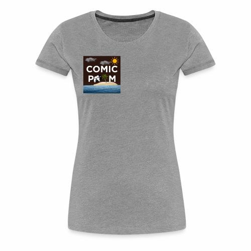 Petit logo Comic PALM - T-shirt Premium Femme