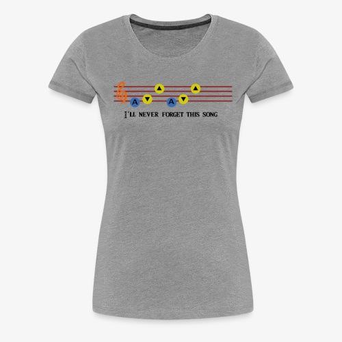 Ocarina Song - T-shirt Premium Femme