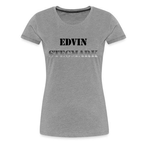 Edvin - Premium-T-shirt dam