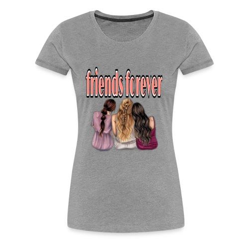 friends forever / vrienden voor altijd - Vrouwen Premium T-shirt