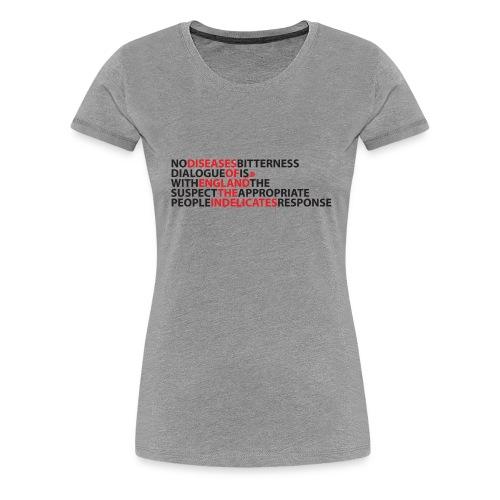 bitter - Women's Premium T-Shirt