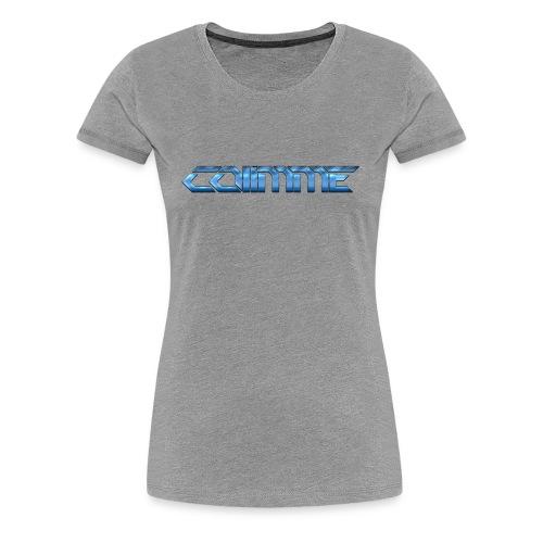 Co11mme SCHRIFTZUG - Frauen Premium T-Shirt
