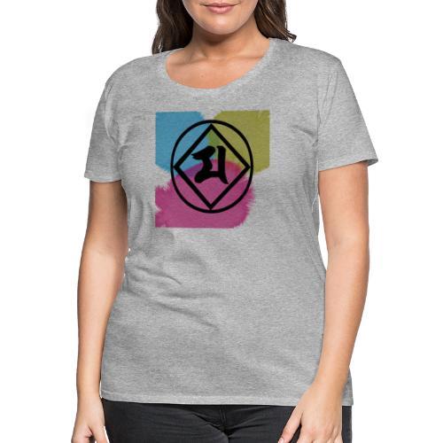 Logo Japones color - Camiseta premium mujer