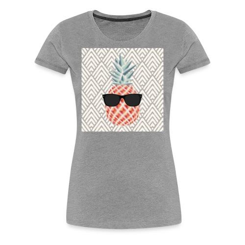 coole Ananas - Frauen Premium T-Shirt