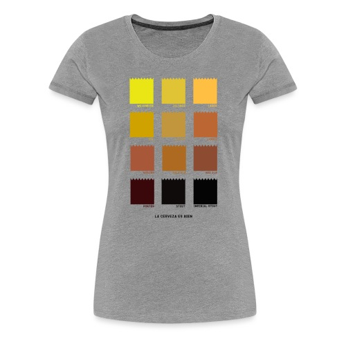 BEER COLOR - Camiseta premium mujer