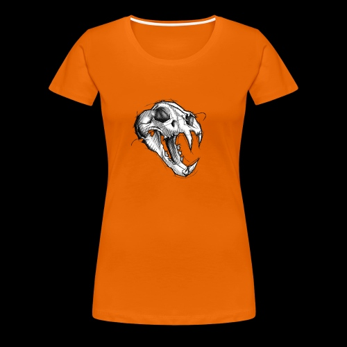 Teschio Tigre - Maglietta Premium da donna