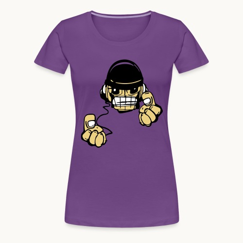 Micky DJ - T-shirt Premium Femme