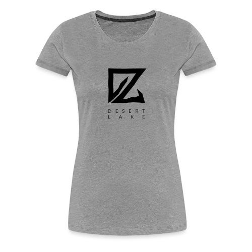Desert Lake Logo Premium Baseball Men's Shirt Navy - Frauen Premium T-Shirt