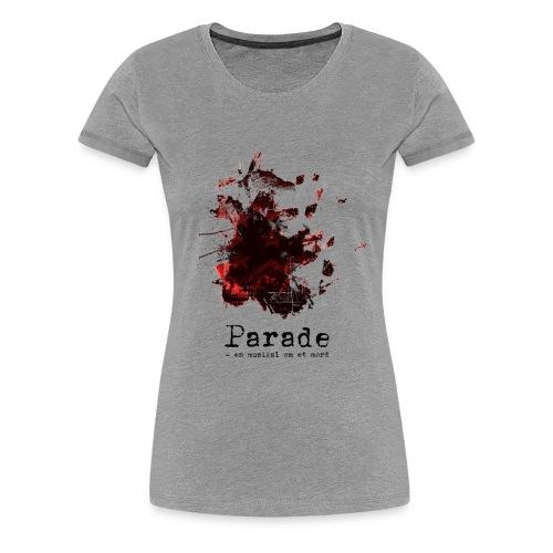 paradeshirtspread - Premium T-skjorte for kvinner