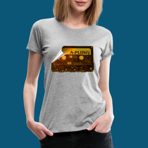 SUNSET MUSIC png - Frauen Premium T-Shirt