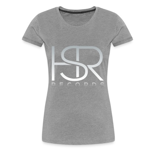 HSR RECORDS - Maglietta Premium da donna