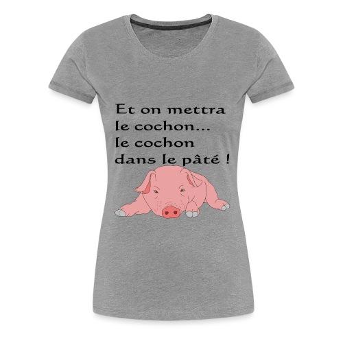 pimoch10 png - T-shirt Premium Femme