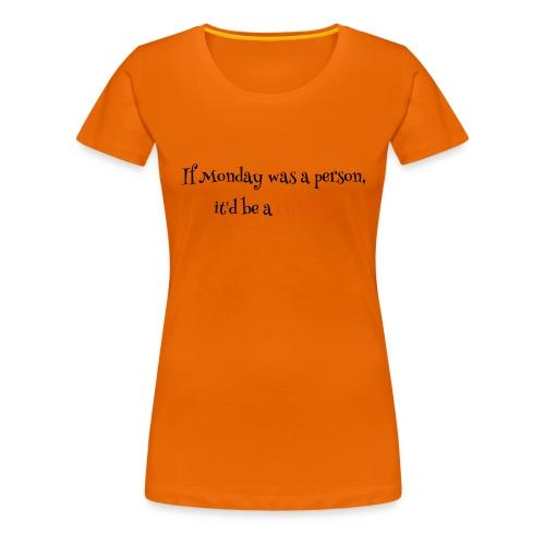 ginger1 - Naisten premium t-paita