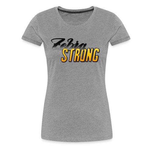 Zebra Strong - Frauen Premium T-Shirt