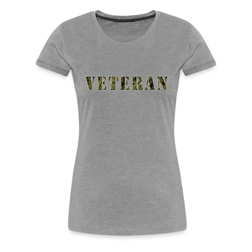 VeteranCamoM84 - Dame premium T-shirt