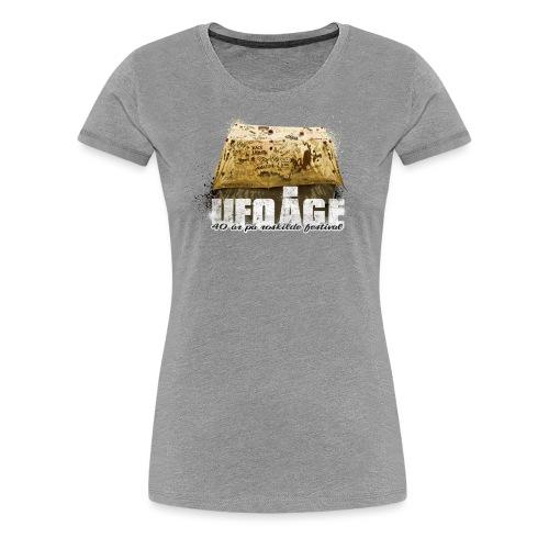 ufotelt - Dame premium T-shirt