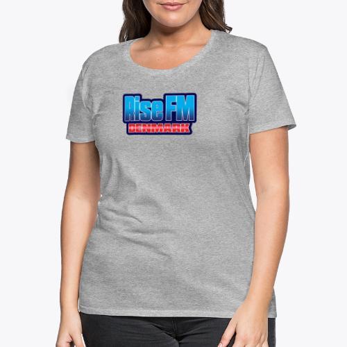 Rise FM Denmark Text Only Logo - Dame premium T-shirt