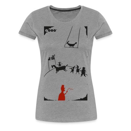 zirkus 3000b png - Frauen Premium T-Shirt