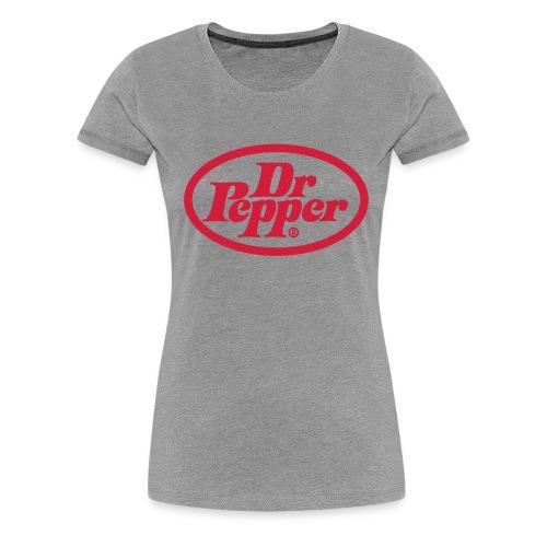 Retro pepper - Premium-T-shirt dam