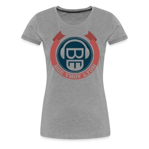 Mug BDE Ynov Lyon Classic - T-shirt Premium Femme