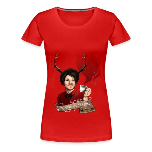 Design dédicace! - T-shirt Premium Femme