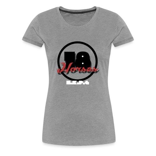 18 Horses - NKPG (White) - Premium-T-shirt dam