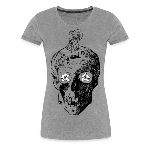 Girl on the Skull McKoy - Camiseta premium mujer