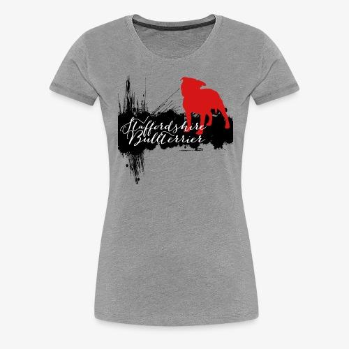 Staffordshire Bullterrier - Frauen Premium T-Shirt