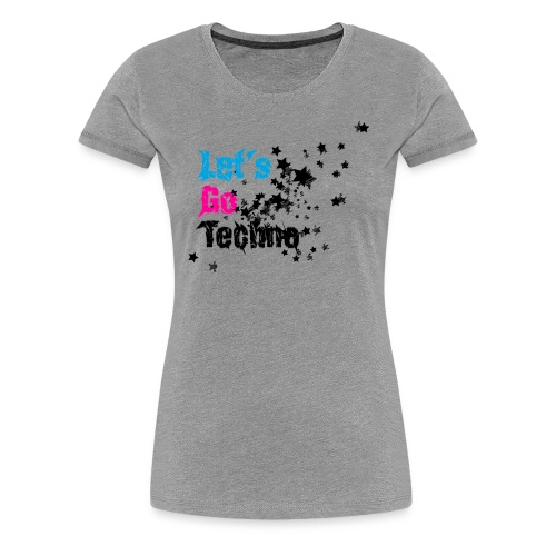 lgt shirtddd 4000x3400px aufgrau - Frauen Premium T-Shirt