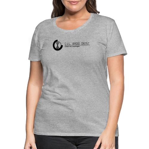 CRD Logo met Tekst - Vrouwen Premium T-shirt