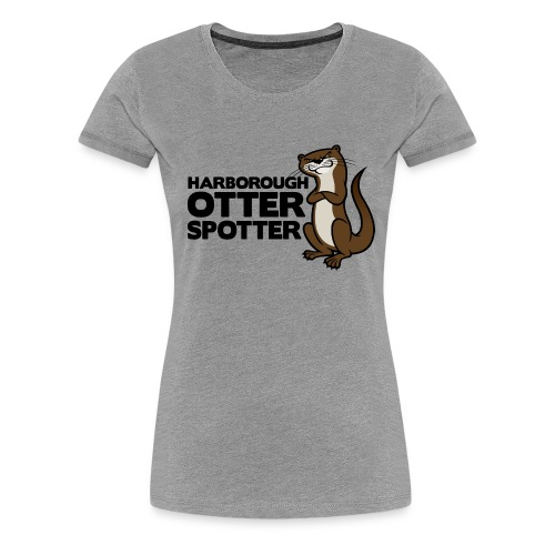 HarbOtterSpotter png - Women's Premium T-Shirt