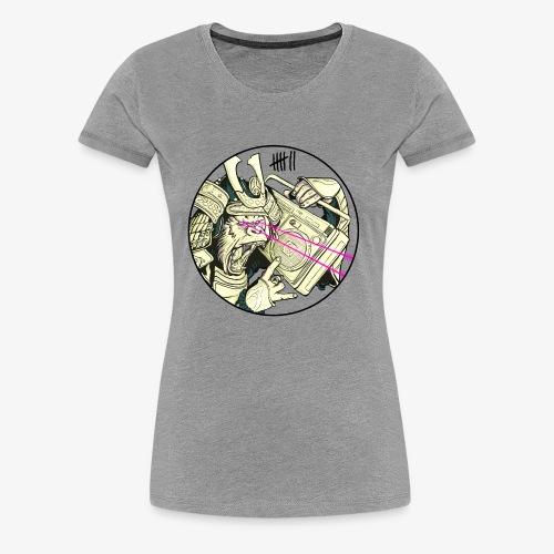 7 Apparel - Gorilla Samurai - Frauen Premium T-Shirt
